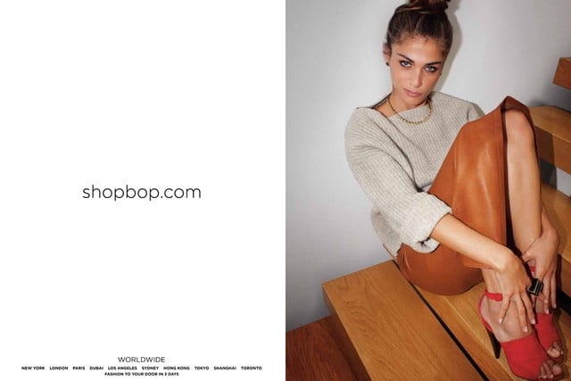 Elisa Sednaoui for Shopbop Fall 2011
