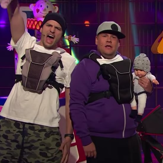 Ashton Kutcher Dad Band Video With James Corden