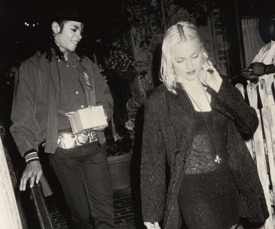Madonna and Michael ducked out of The Ivy in LA together in 1991.