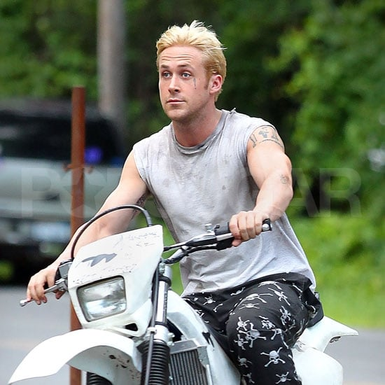 Ryan Gosling With Bleached Blond Hair