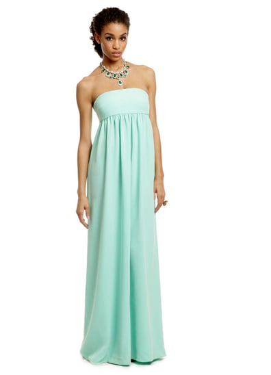 Tibi mint kisses gown (rent for $100)