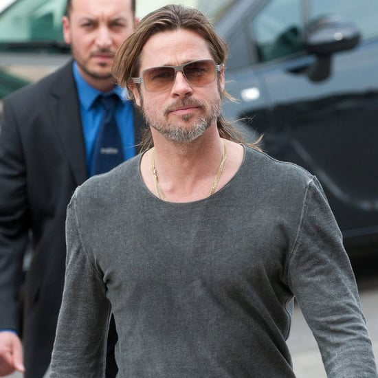 Brad Pitt at Documenta Art Fair in Germany Pictures