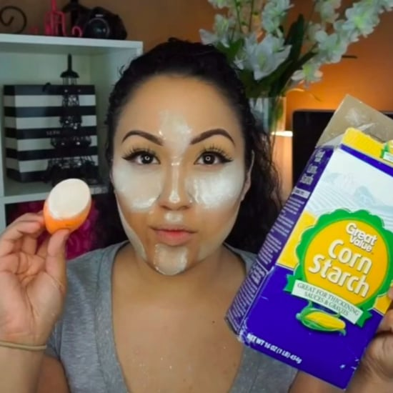 How to Bake Your Face With Cornstarch