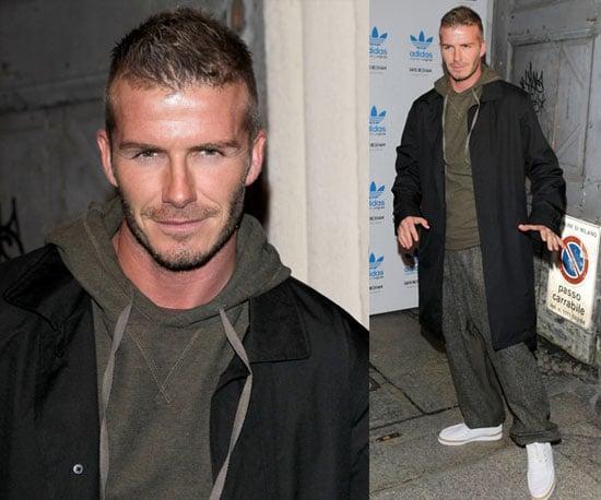 Photos of David Beckham in Milan