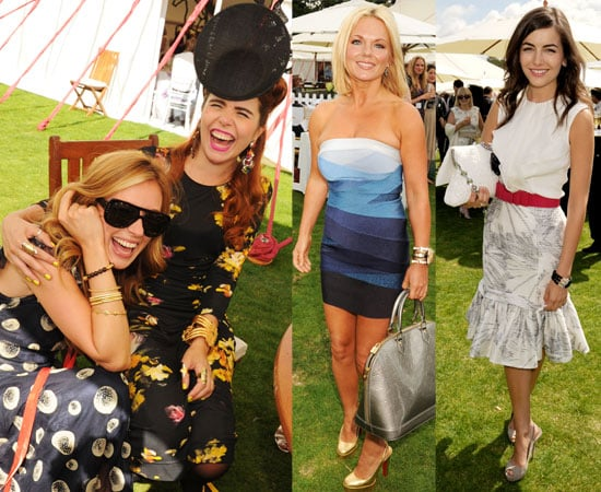 Celebrities at the Cartier International Polo 2010 2010-07-26 23:30:00