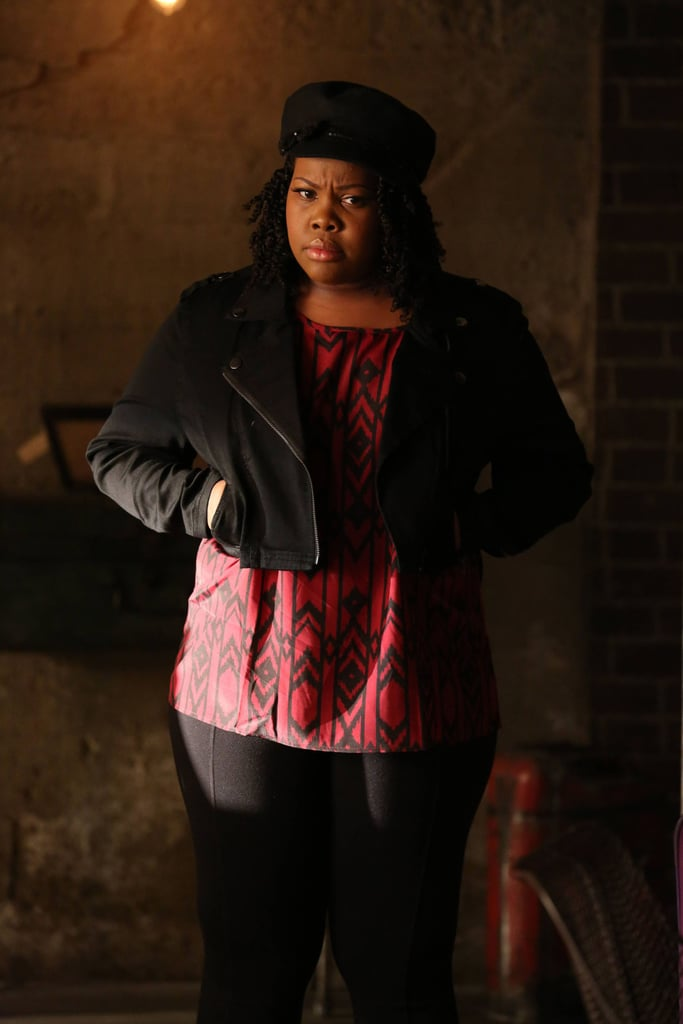 Mercedes's (Amber Riley) career is about to take off on Glee.