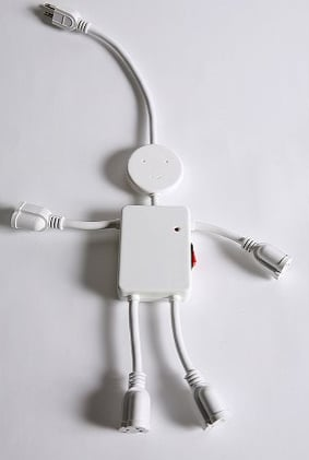 Electric Man Power Strip From Urban Outfitters