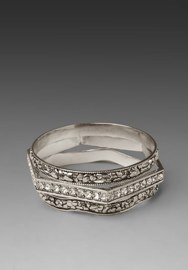 BELLE NOEL 3 Stack Bangles in Palladium at Revolve Clothing - Free Shipping!