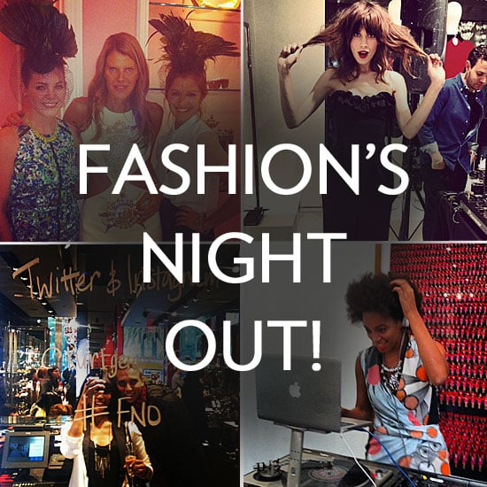 Our Fashion's Night Out Insta-Recap — DVF, Alexa Chung, Solange, and More!