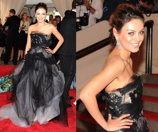 Mila Kunis at 2010 Met's Costume Institute Gala