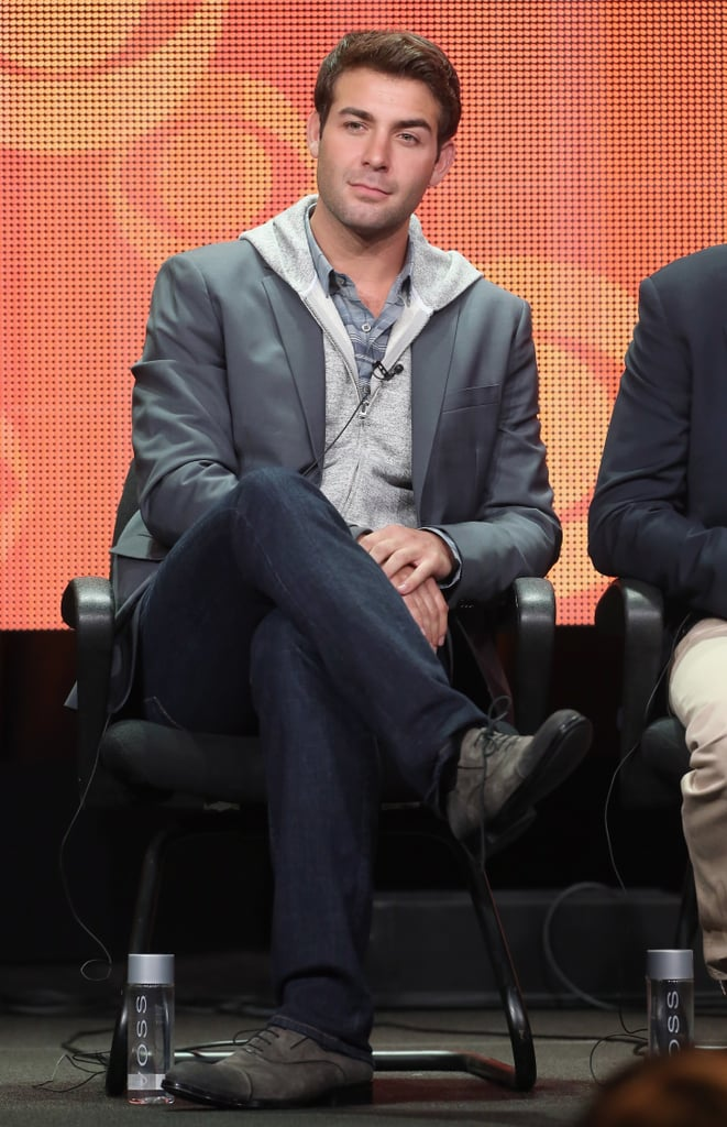 James Wolk showed up at the panel discussion for The Crazy Ones.