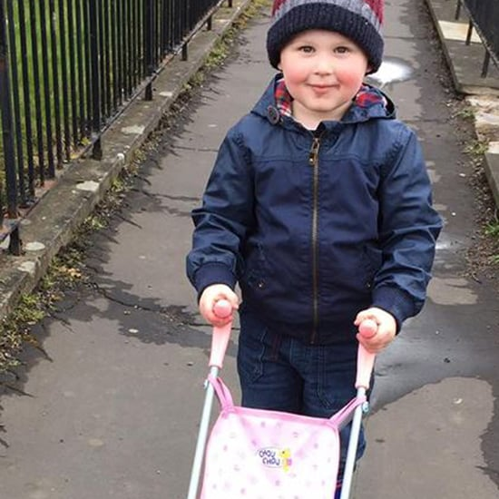 Mom's Letter to Stranger Shaming Son For His Pink Stroller