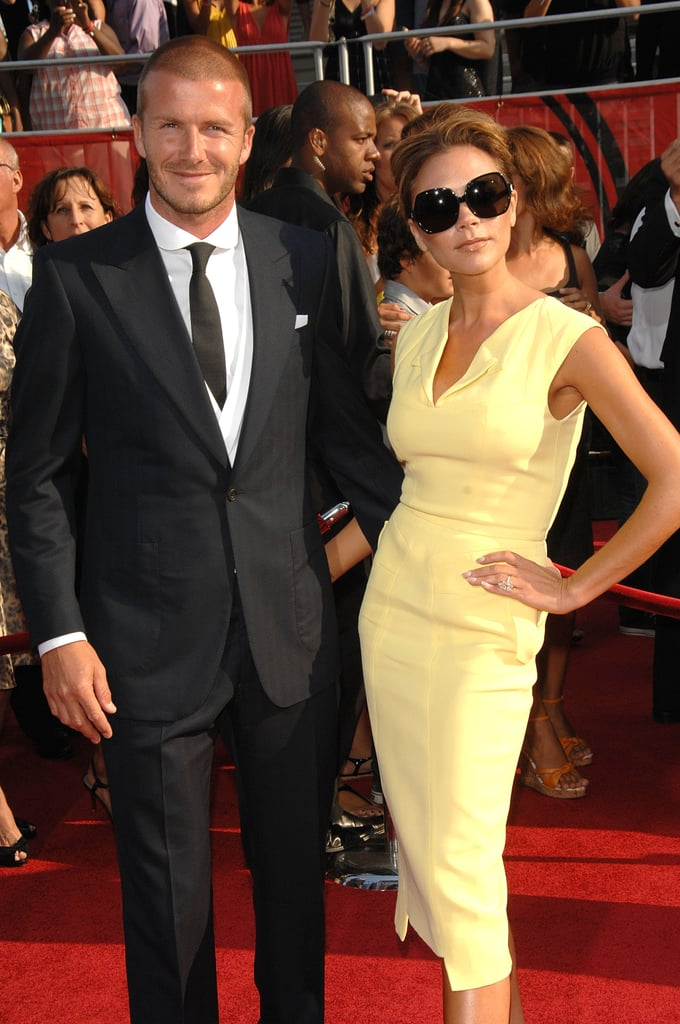 The couple stayed close on the red carpet at the ESPY Awards in LA in July 2008.