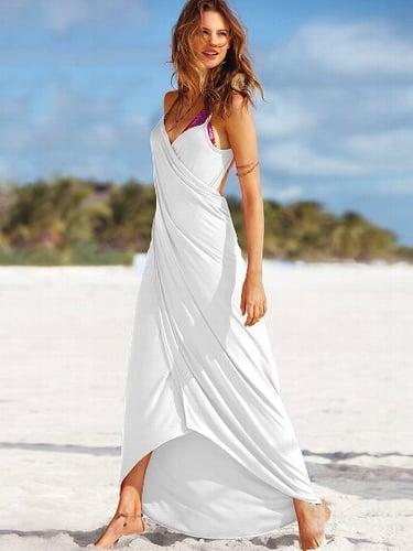Maxi Wrap Cover-up Dress