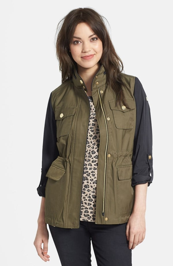 Vince Camuto Two-Tone Anorak