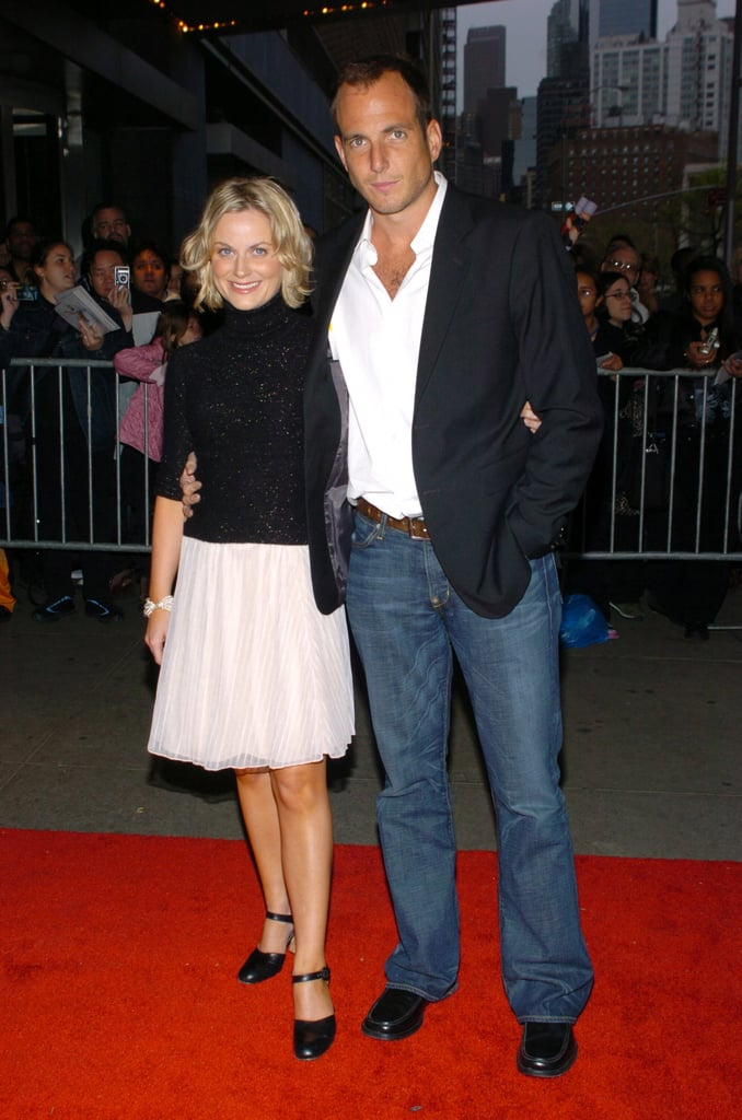 Amy Poehler and Will Arnett in 2004