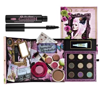Two Faced Glamour Revolution, Brown Lash Injection, and Lash Lights Mascara Sweepstakes Rules