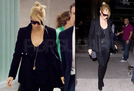 Photos of Gwyneth Paltrow Arriving at LAX From London