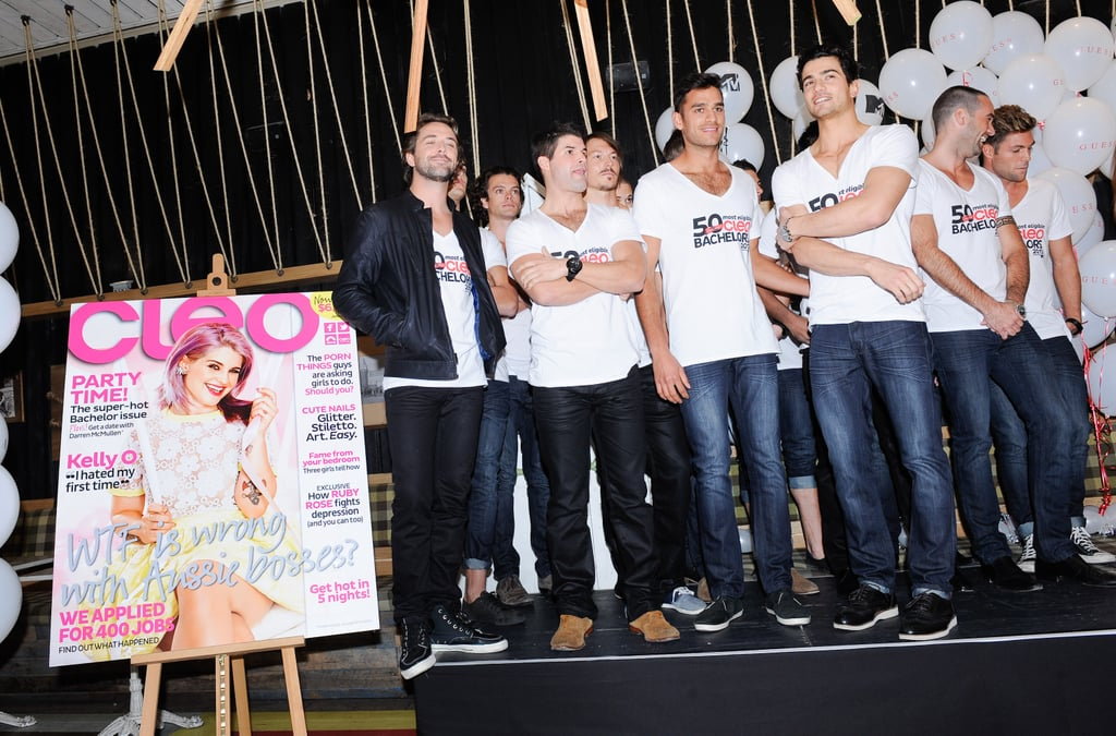 Hot, Single Guys Unite For Cleo Bachelor of the Year 2013