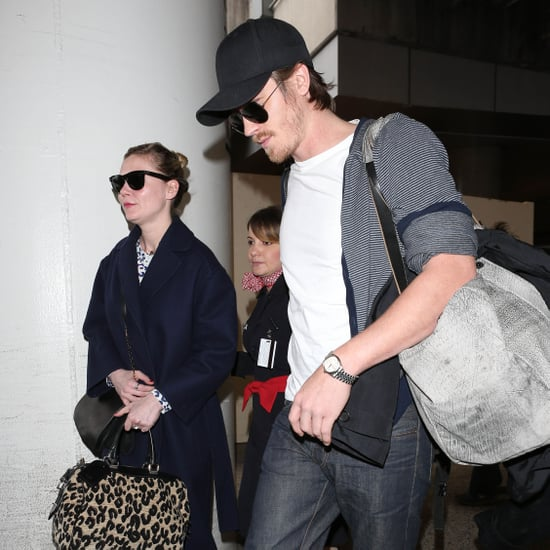 Kirsten Dunst and Garrett Hedlund Land in LA | Pictures