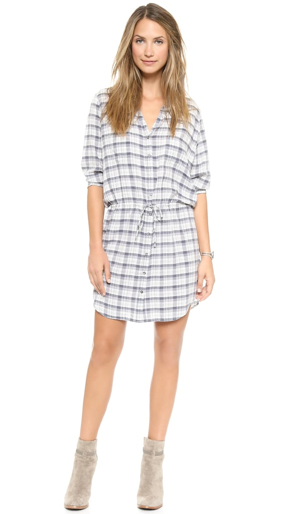 Joie Checked Dress