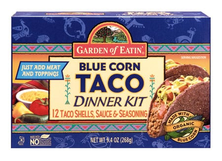 Food Review: Garden of Eatin' Blue Corn Taco Dinner Kit