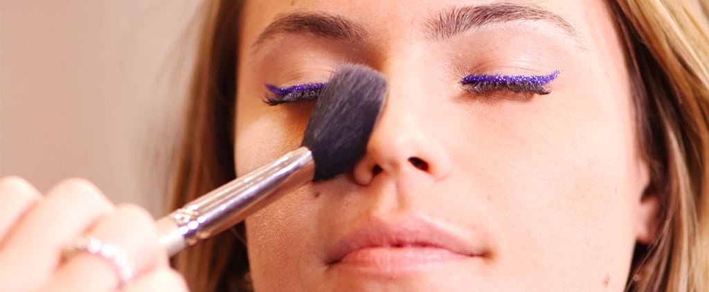 Makeup Inspiration For Tonight! Chic Ways to Wear Glitter on NYE