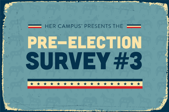 How Do You Feel About the 2016 Election? Take HC's Pre-Election Survey #3 Now!