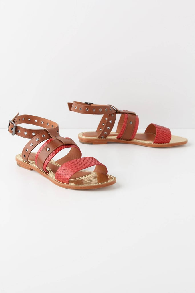 We'd pair these sandals with a maxi dress and statement earrings for a directional bohemian look.  Leifsdottir Ulli Sandals ($80, originally $168)