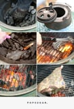 How to Build a Fire on the Big Green Egg, in Pictures