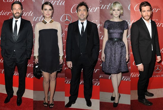 Pictures of Ben Affleck, Natalie Portman, and More on the Palm Springs International Film Festival Awards Gala Red Carpet 2011-01-10 02:09:00