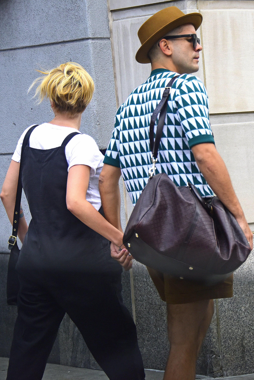 Scarlett Johansson's Short Hair From the Back