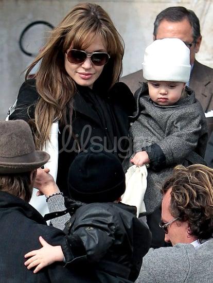 Photos of Knox and Vivienne Jolie-Pitt