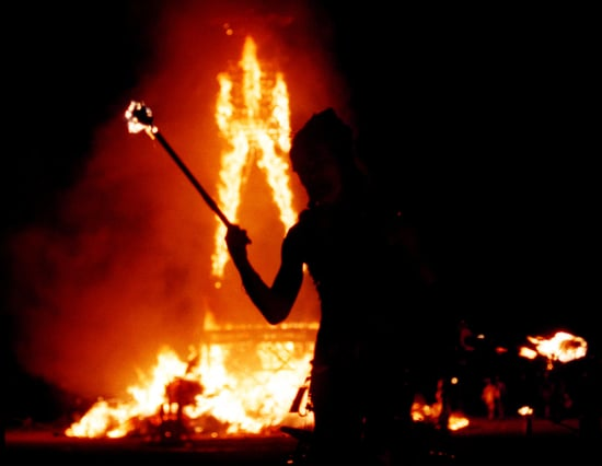 When the Going Gets Tough: Revelers Flee Burning Man Dust