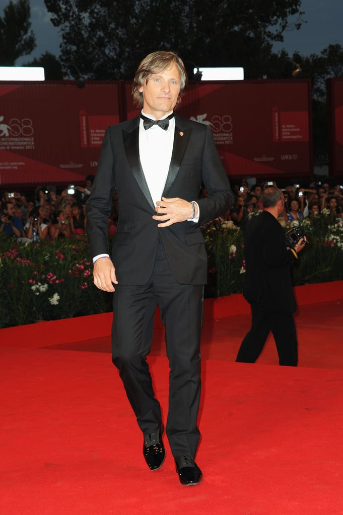 Viggo Mortensen in Venice.