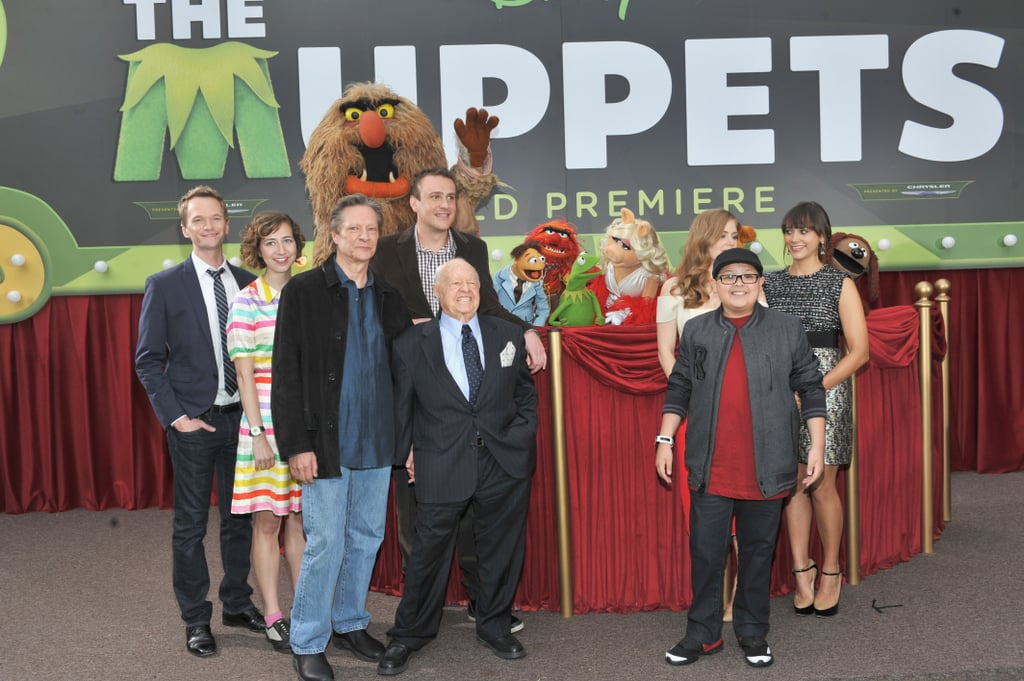The entire cast posed for a photo.