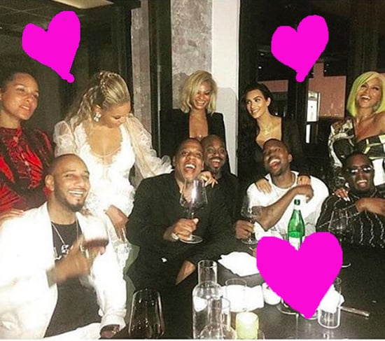 Beyoncé, Jay Z, Kanye West, And Kim Kardashian Just Took The Greatest Couples Photo Of All Time