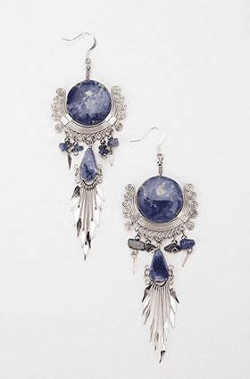 Urban Outfitters Moroccan Stone Drop Earrings ($39)