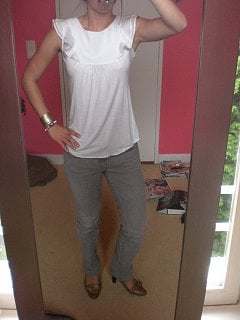 Look of the Day: Girly Casual