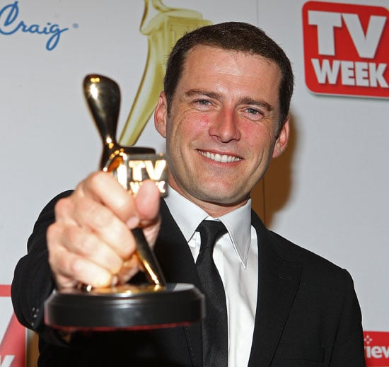 Video of Today Host Karl Stefanovic Winning the Gold Logie at the 2011 Logie Awards