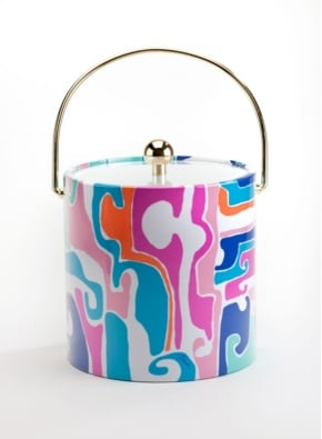 Trina Turk Mirage Ice Bucket