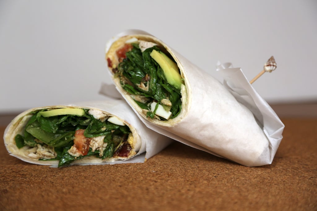 Chicken Cobb Salad Wrap