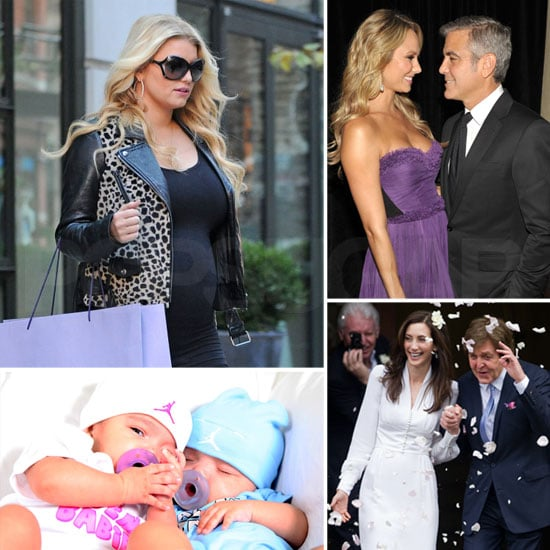 The Hottest October Headlines — Jessica's Bump, Mariah's Twins, George and Stacy's Romance, and More!