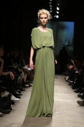 Trend Report green is back fro A/w 2008 and 2009