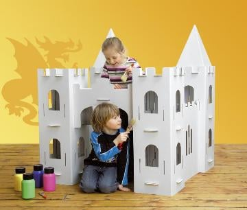 Toy Box:  A Castle Built For Your Royal Family