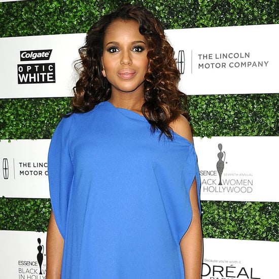 Kerry Washington Pregnant Style