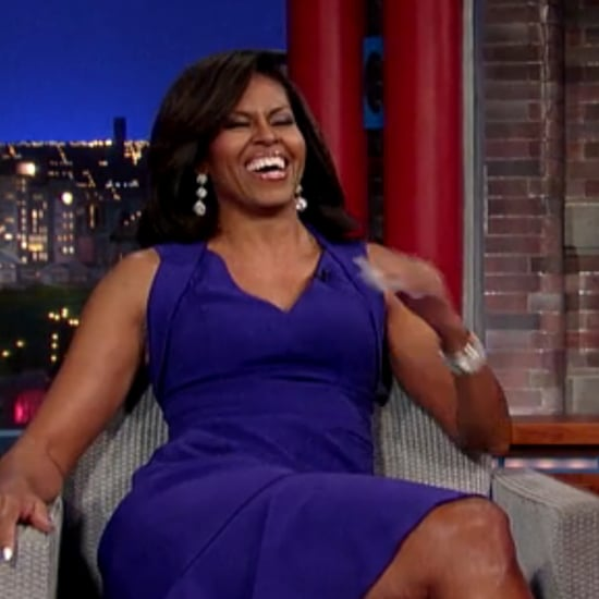 Michelle Obama on The Late Show With David Letterman 2015