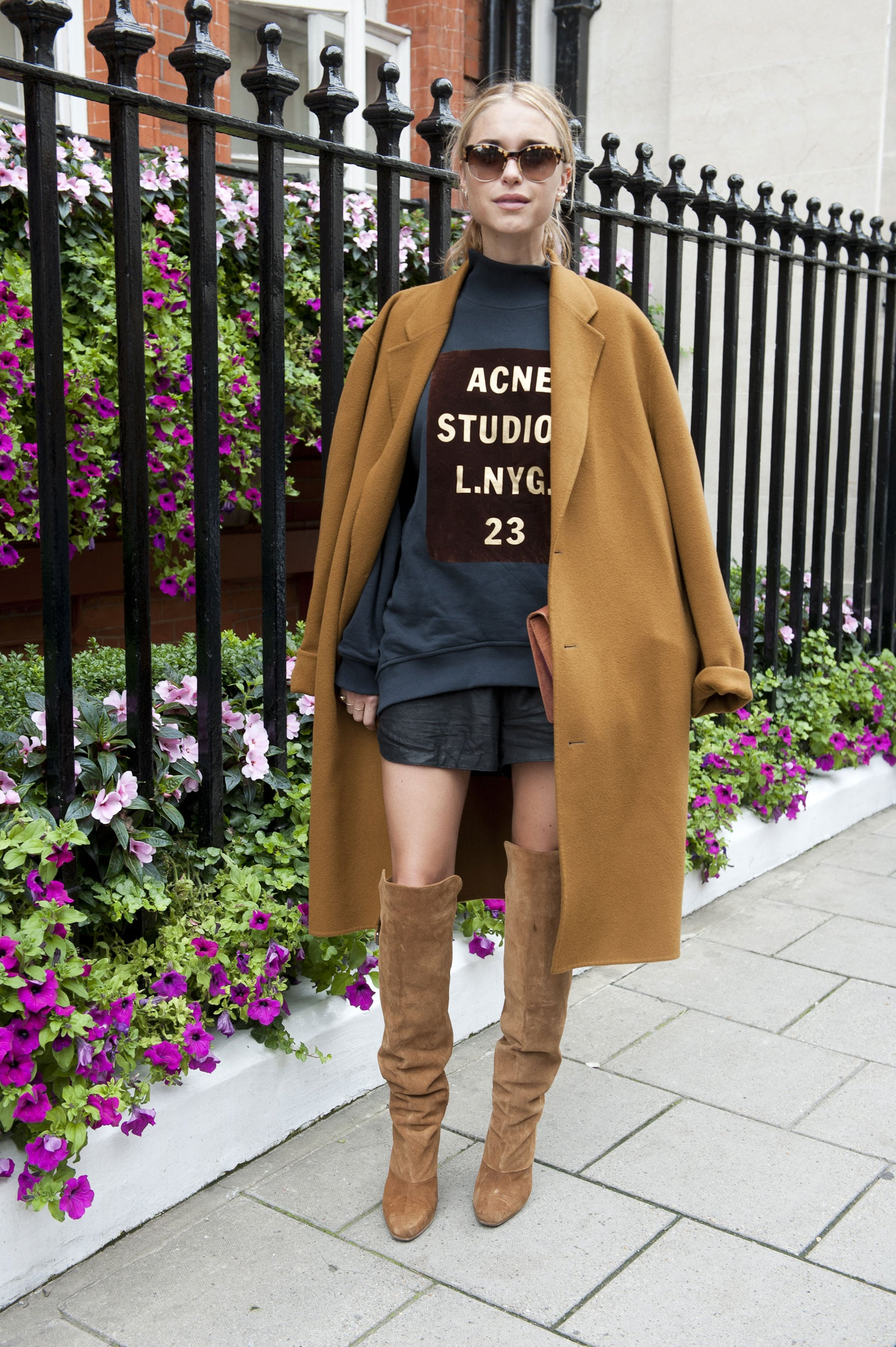 We love everything about this look, but mainly those amazing suede boots.