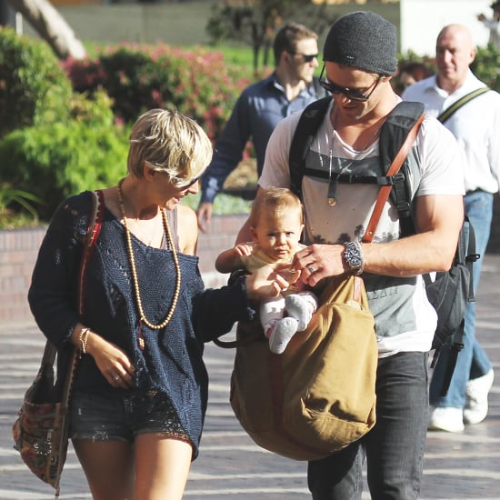 Chris Hemsworth and Elsa Pataky With Baby India | Pictures