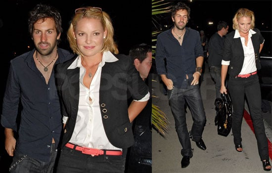 Photos of Katherine Heigl and Josh Kelley at Coldplay concert